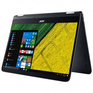 Laptop 2 in 1 ACER Spin SP714-51-M8MS, Intel® Core™ i7-7Y75 pana la 3.6GHz, 14