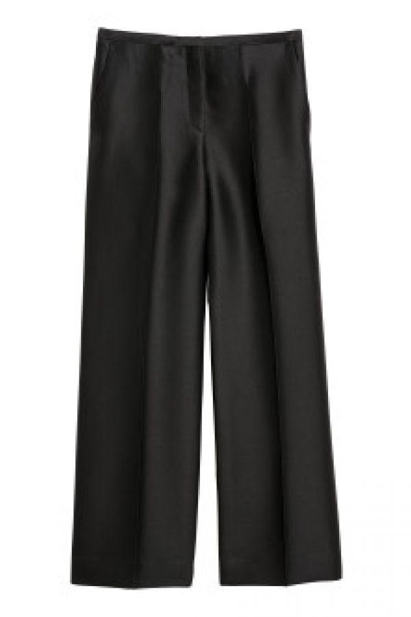 Pantaloni de costum cu matase