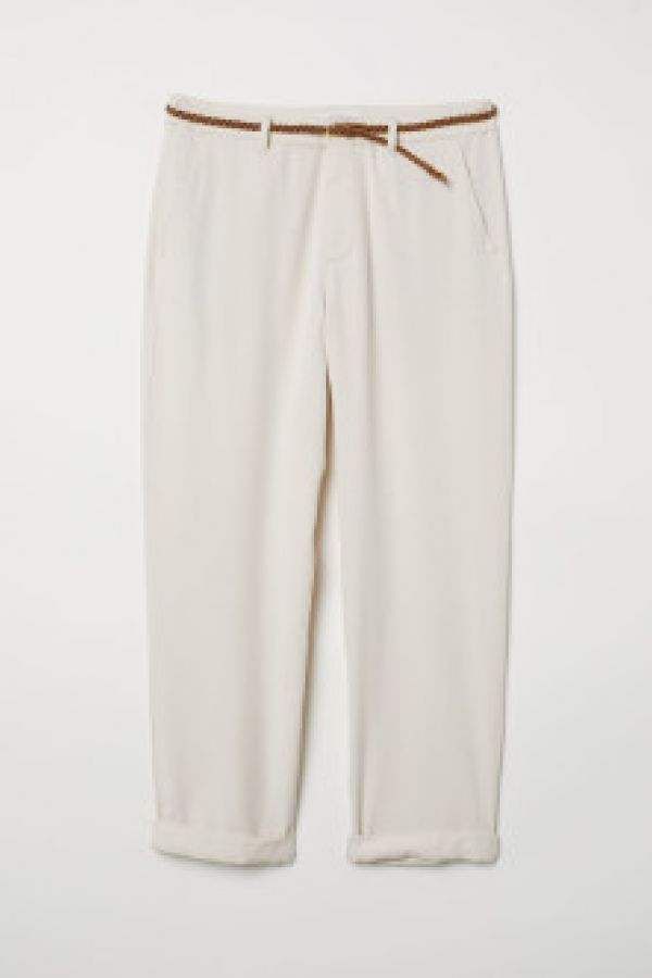 Pantaloni chino de lyocell