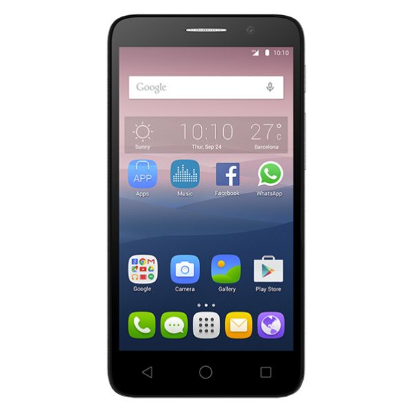 Telefon ALCATEL Pop 3 5015D 8GB, 1GB RAM, Dual SIM, Black