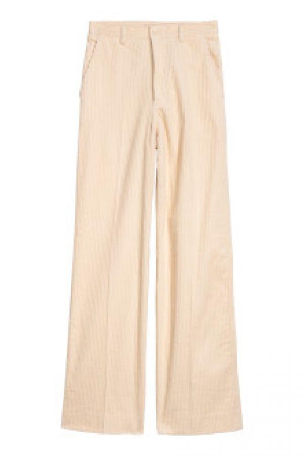 Pantaloni largi de catifea