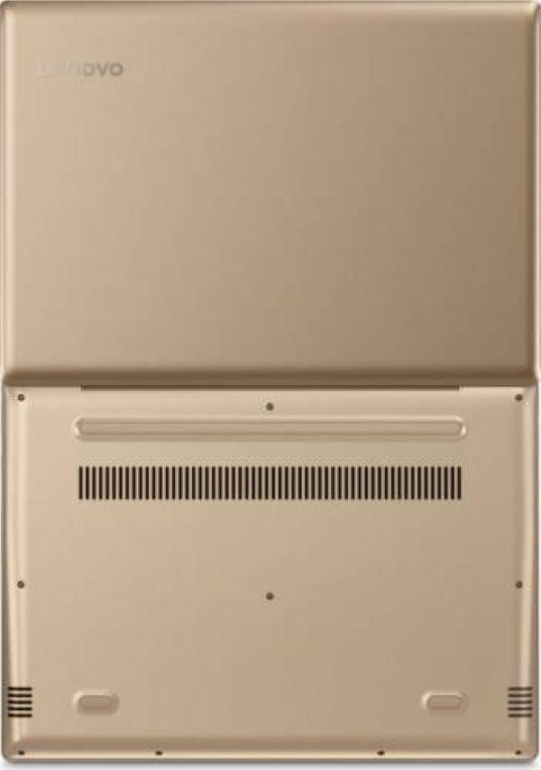 Laptop Lenovo IdeaPad 520S-14IKB Intel Core Kaby Lake i3-7100U 1TB 4GB Win10 HD Auriu
