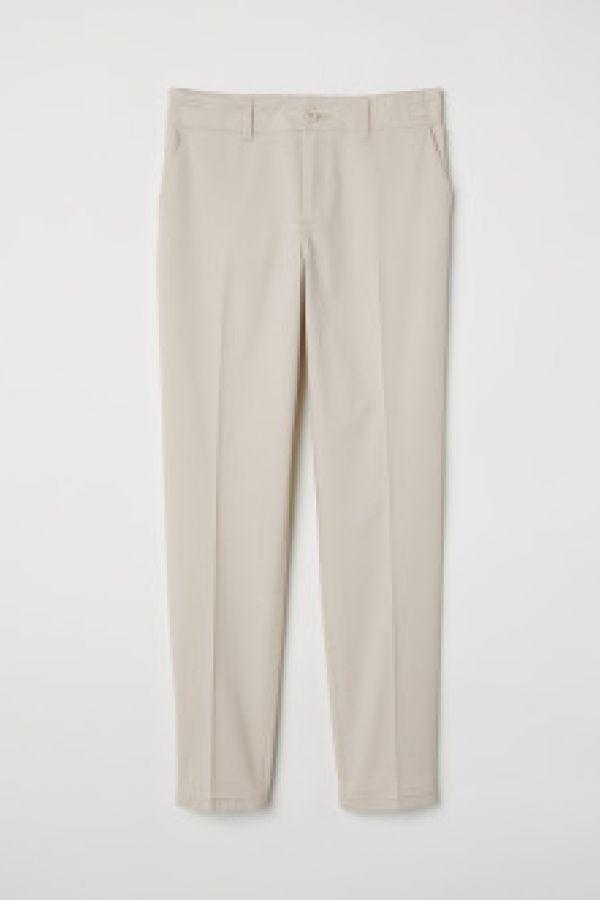 Pantaloni chino de bumbac