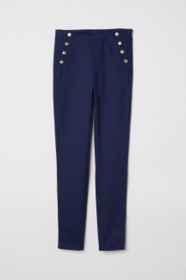 Pantaloni-colanti cu nasturi