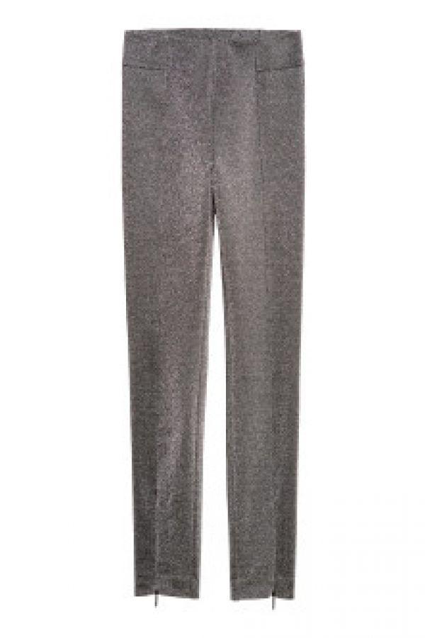 Pantaloni-colanti cu fermoar