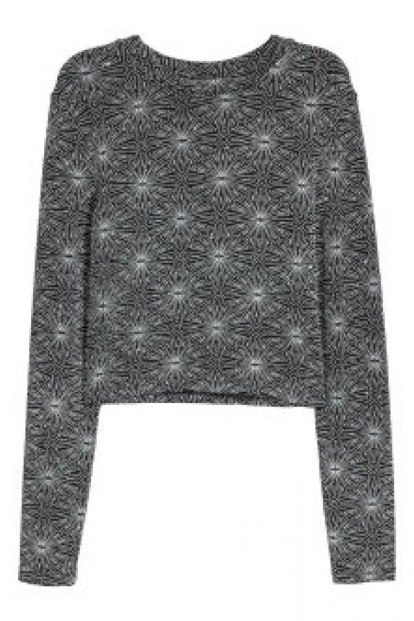 Bluza de jerseu stralucitor