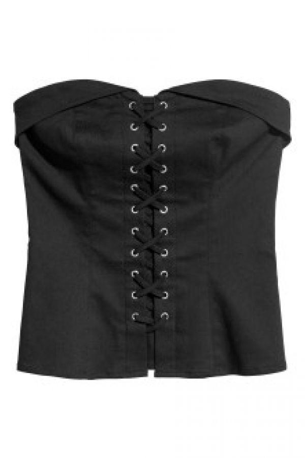 Top tip corset