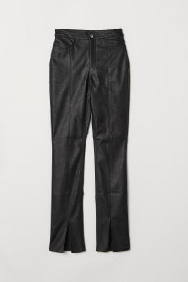 Pantaloni cu fente