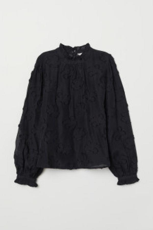 Bluza din tesatura jacard