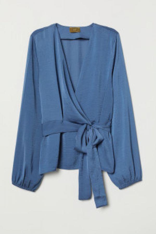 Bluza petrecuta cu cordon