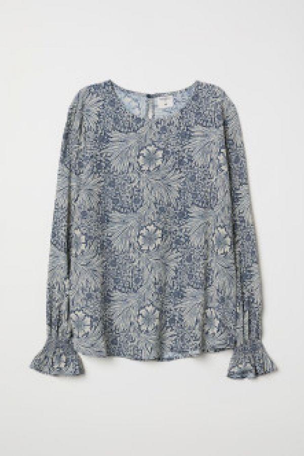 Bluza cu fronseuri