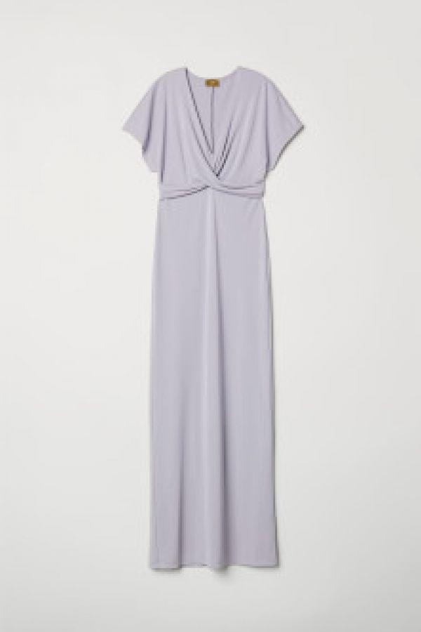 Rochie lunga drapata