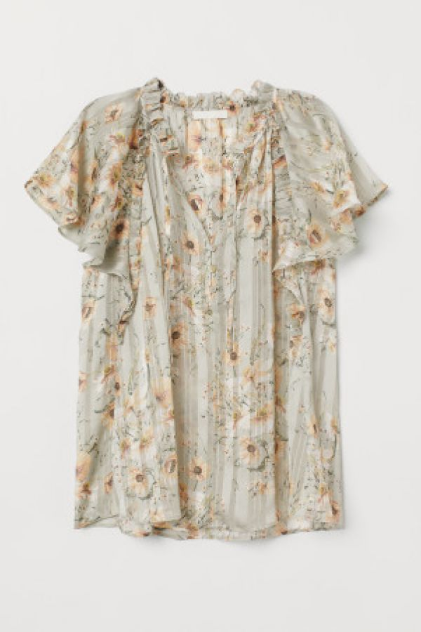 Bluza cu maneci-fluture