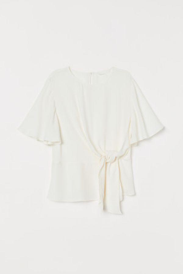 Bluza cu panglici