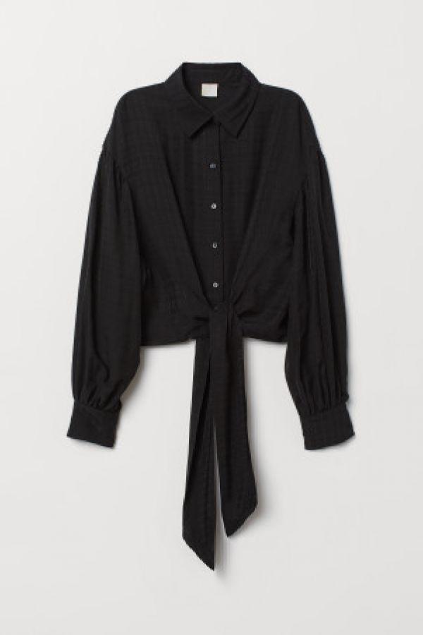 Bluza cu panglica