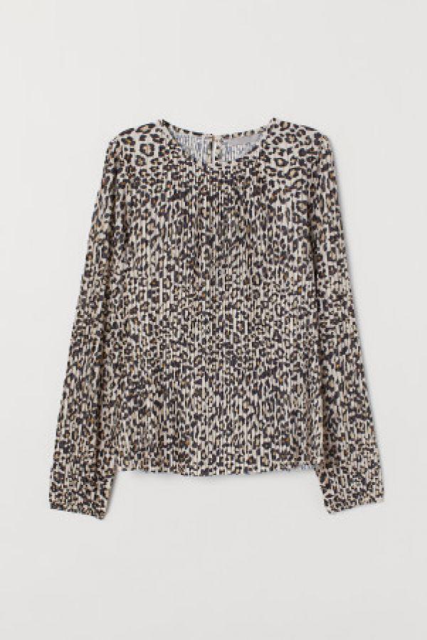 Bluza plisata