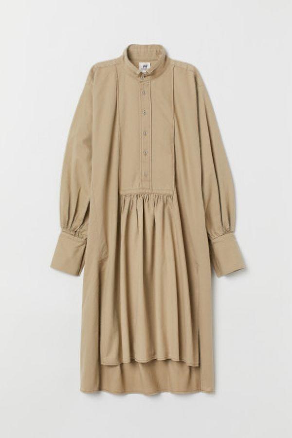 Rochie-camasa de twill