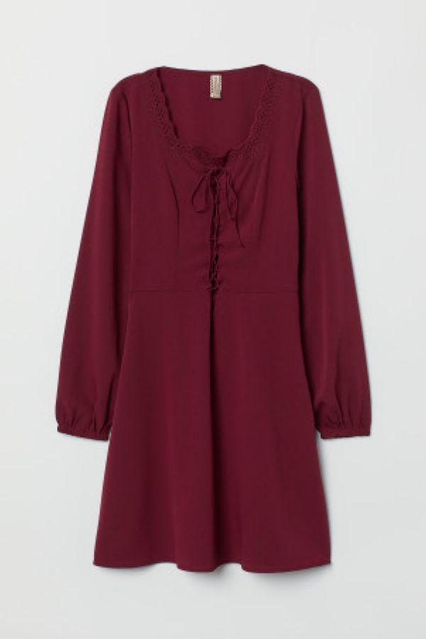 Rochie din tesatura crep