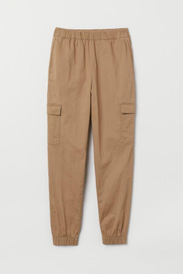 Pantaloni cargo de twill