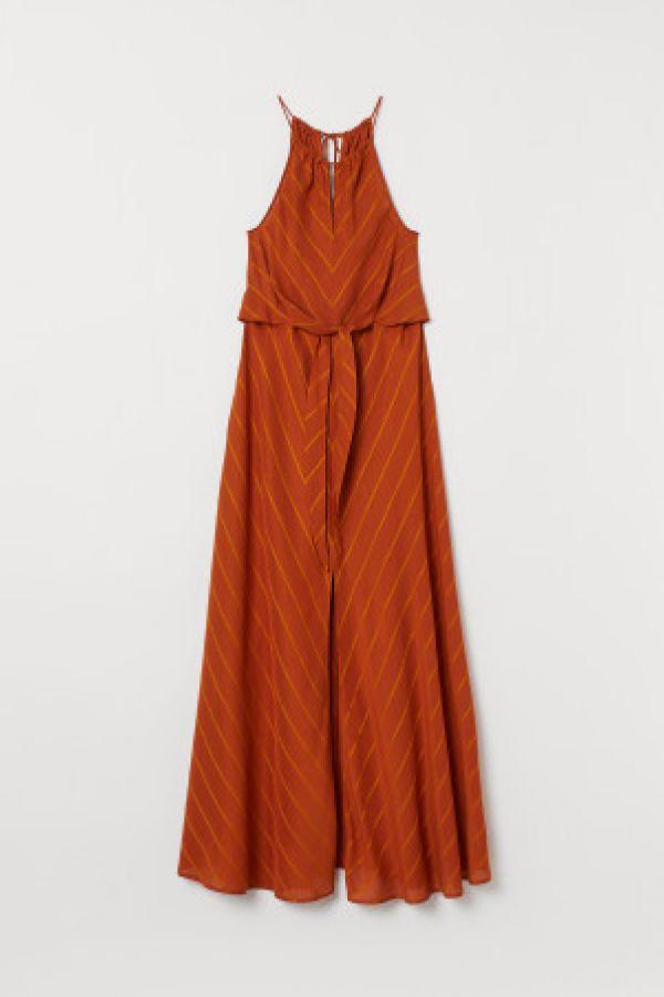 Rochie din amestec de lyocell