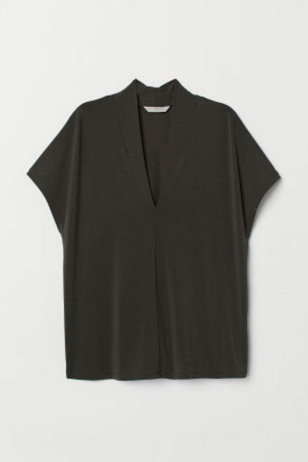 Bluza in V
