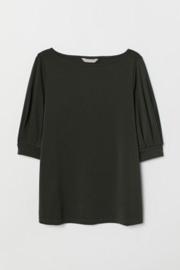 Bluza de jerseu crep