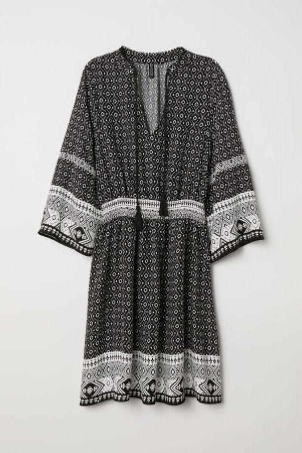 Rochie cu snururi