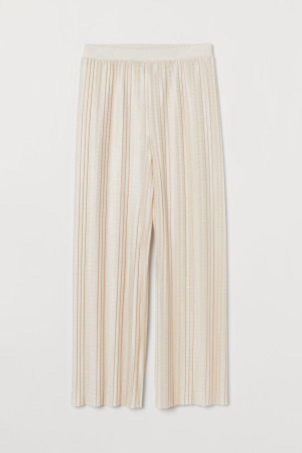Pantaloni plisati