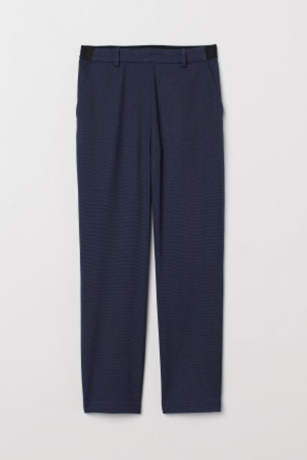 Pantaloni-tigareta cu elastic