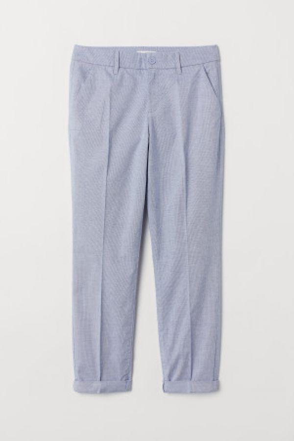 Pantaloni chino pana la glezna