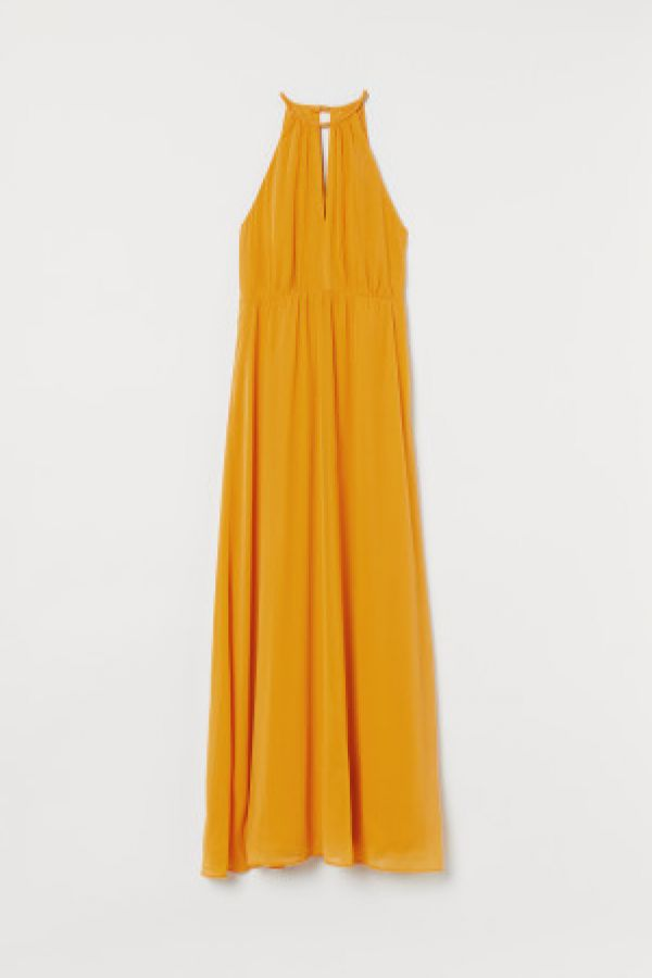 Rochie maxi de crep