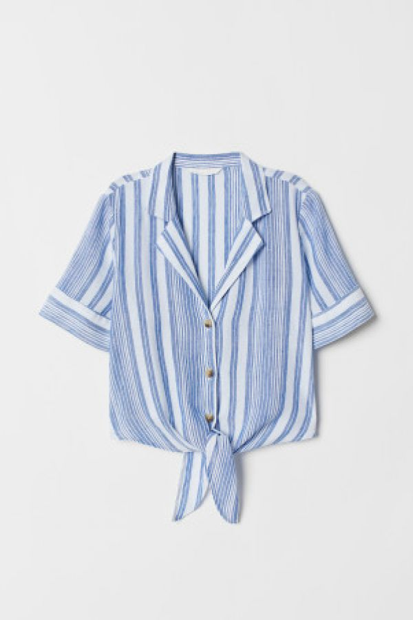 Bluza din amestec de in