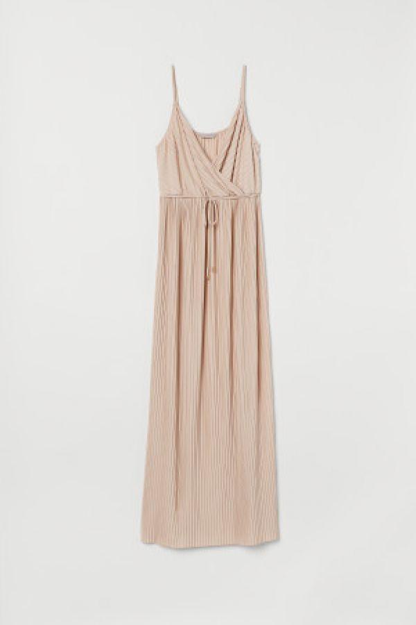 Rochie lunga plisata