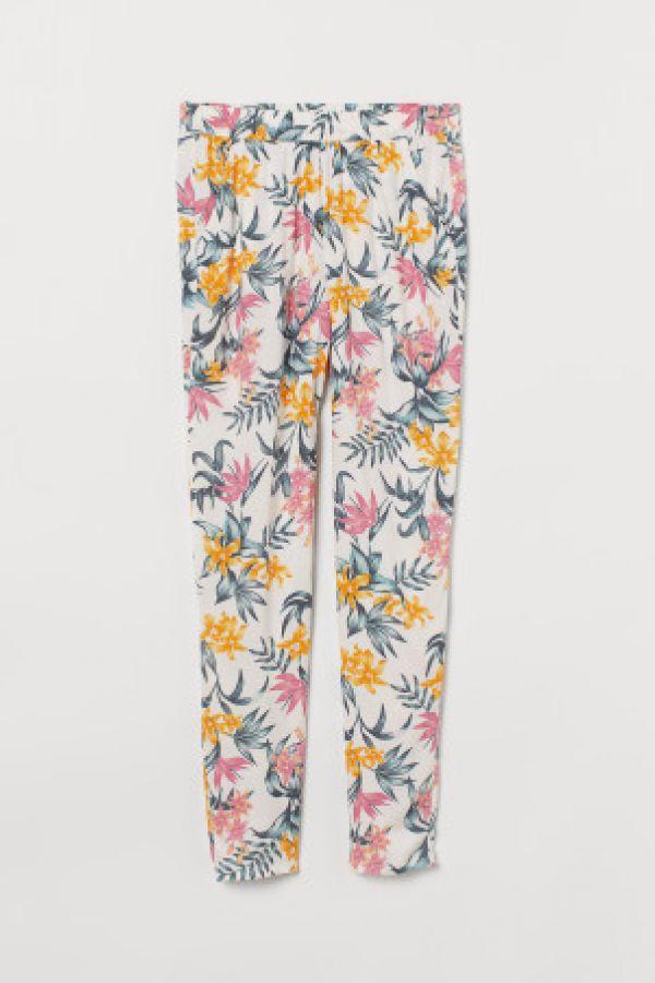 Pantaloni elastici de viscoza