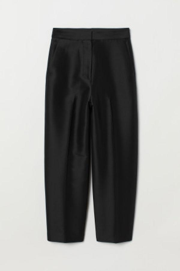 Pantaloni din mix de matase