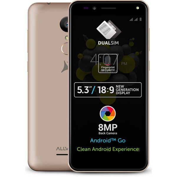 Telefon ALLVIEW A9 Plus, 8GB, 1GB RAM, dual sim, Gold