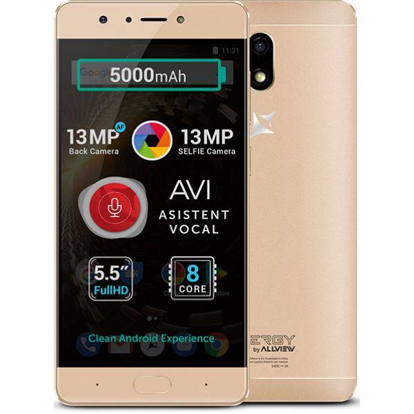 Telefon ALLVIEW P9 Energy S, 32GB, 3GB RAM, dual sim, Gold
