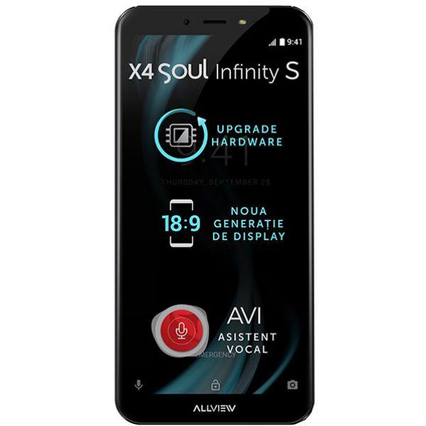 Telefon ALLVIEW X4 Soul Infinity S, 16GB, 3GB RAM, Dual SIM, Night Sky