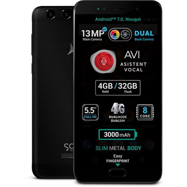 Telefon ALLVIEW X4 Soul Lite, 32GB, 4GB RAM, Dual SIM, Black