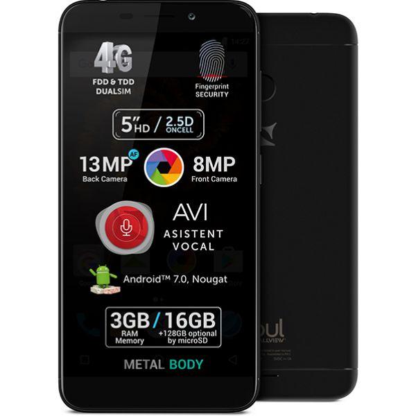 Telefon ALLVIEW X4 Soul Mini 16GB, 3GB RAM, Dual SIM, Black