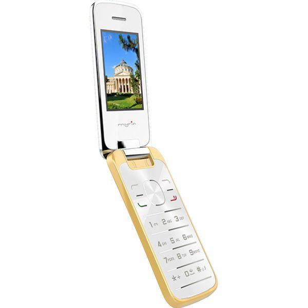 Telefon mobil MYRIA MY9038, 32MB RAM, 2G, Dual SIM, Gold