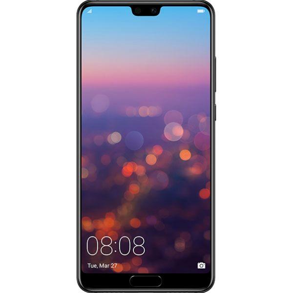 Telefon HUAWEI P20, 128GB, 4GB RAM, Dual SIM, Black
