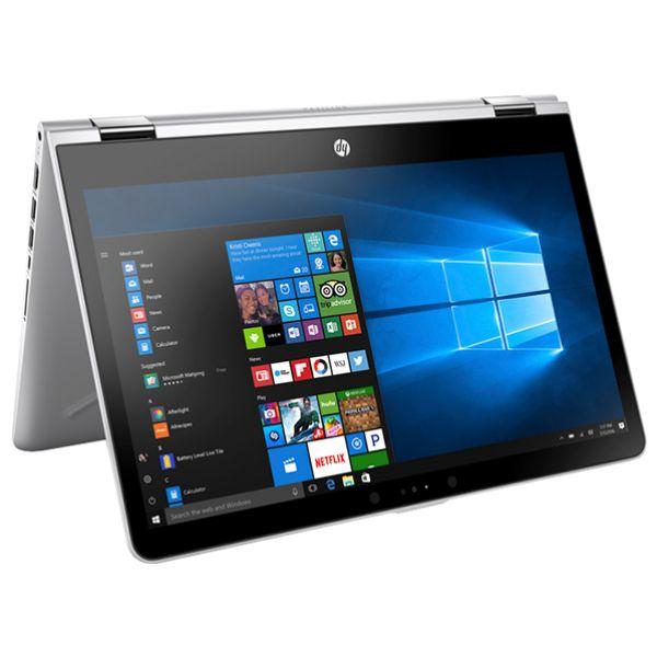 Laptop 2 in 1 HP Pavilion x360 14-ba100nq, Intel® Core™ i5-8250U pana la 3.4GHz, 14.0