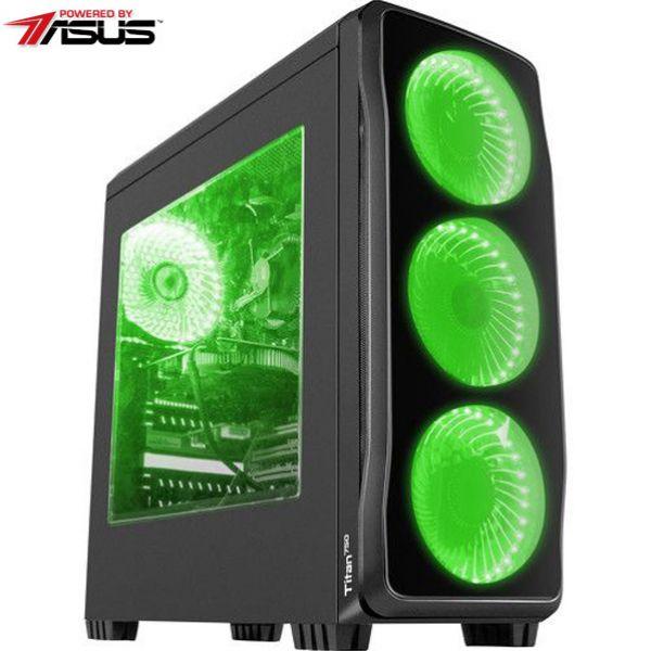 Sistem IT ASUS MYRIA Digital 14 Powered by Asus, Intel® Core™ i5-7400 pana la 3.5GHz, 8GB, 1TB, NVIDIA GeForce GTX 1060 6GB, Ubuntu