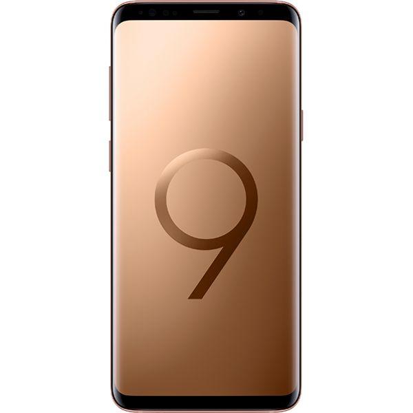 Telefon SAMSUNG Galaxy S9 Plus, 64GB, 6GB RAM, Dual SIM, Gold