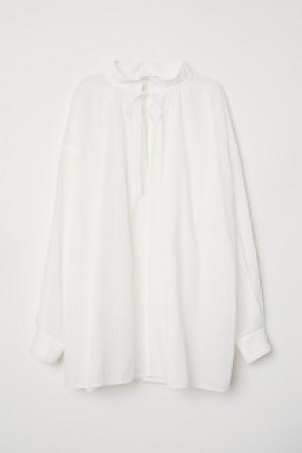 Bluza larga de bumbac