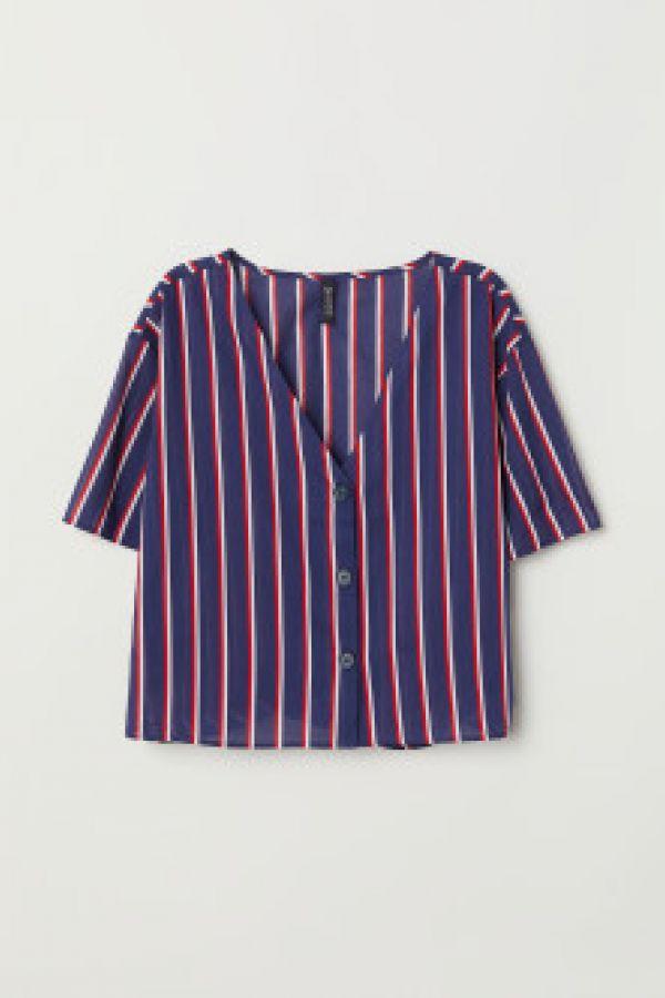 Bluza cu decolteu in V