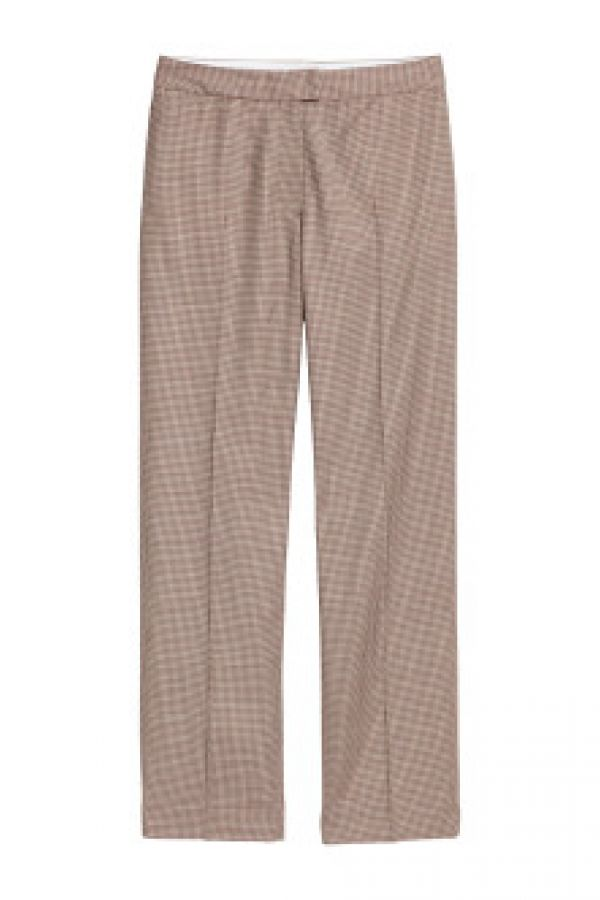 Pantaloni din amestec de lana