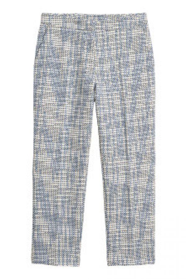 Pantaloni tesuti jacard
