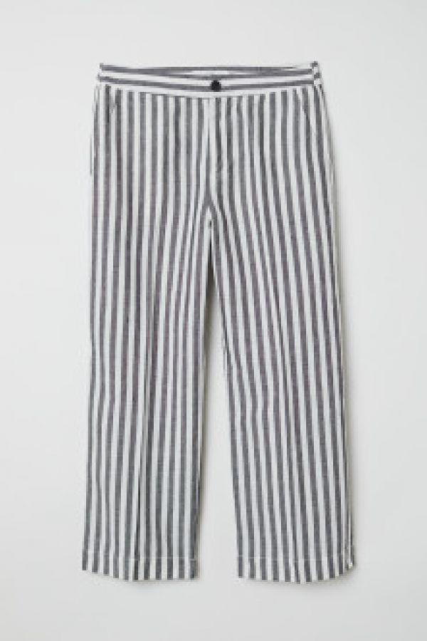 Fusta-pantalon din mix de in